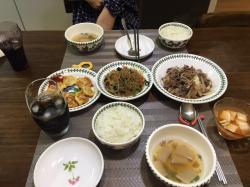 友人のお母さん手作りの韓国料理