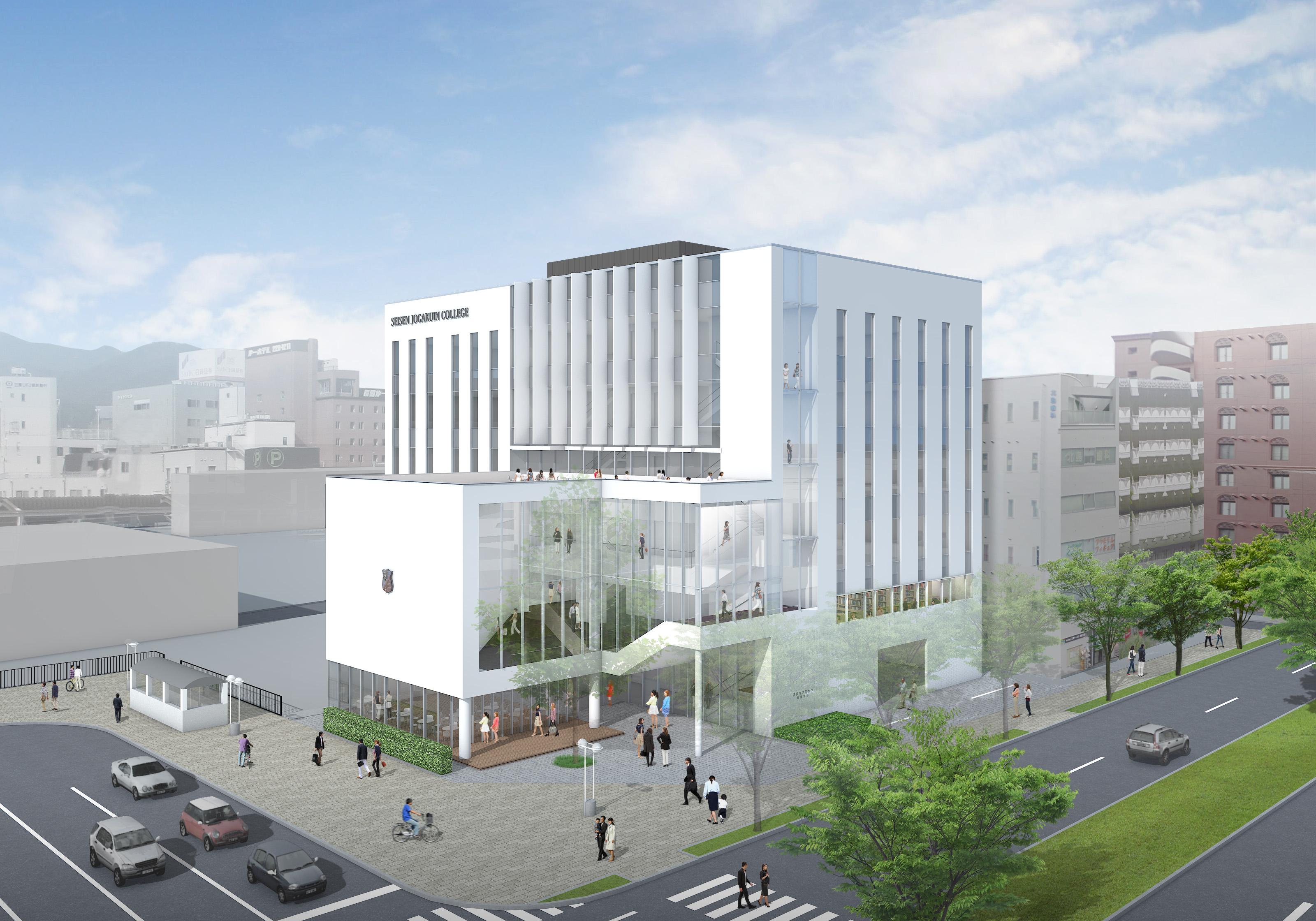 新校舎イメージ図