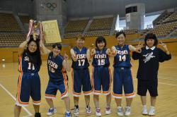 バスケットボール部 優勝